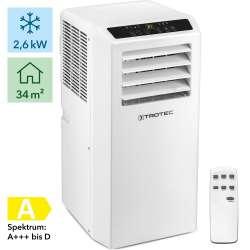 Φορητό κλιματιστικό PAC 2610 S  TROTEC  9000 BTU