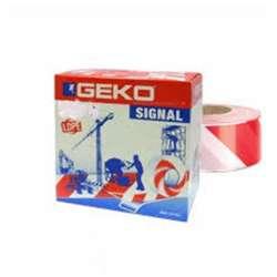 Ταινία Σήμανσης Λευκό/Κόκκινο 100μ Geko